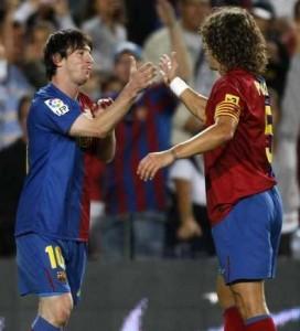 Barcelona 1- 1 Racing empate en la Liga Española