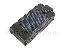 Funda Solar en piel para el iPhone 2G y 3G