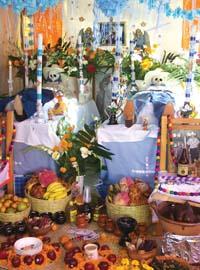 Exposición de Ofrendas del Día de Muertos 2008 en Morelos