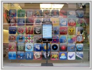 Icono de Netshare en la publicidad de Apple