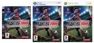 Pro Evolution Soccer 2009 tendrá como portada a Lionel Messi