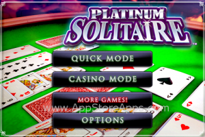 Platinum Soltaire un casino en tu iPhone / iPod Touch