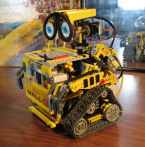Wall-E Lego a control remoto