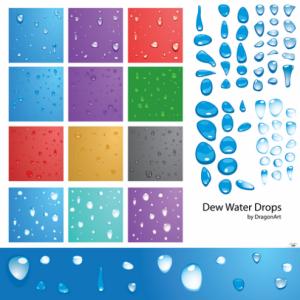 Wallpaper de gotas de agua