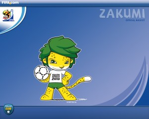 Wallpapers de Zakumi la mascota de Sudáfrica 2010
