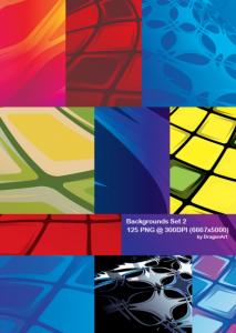 125 wallpapers en diferentes colores y diseños