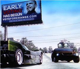 Obama se hace publicidad en los videojuegos