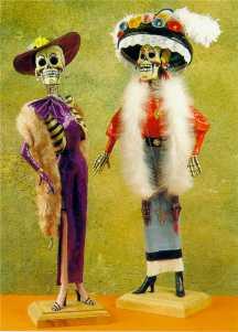 Ideas para vestir calacas para el Día de Muertos