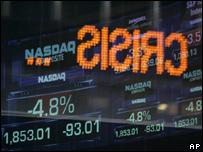El mundo en crisis económica global