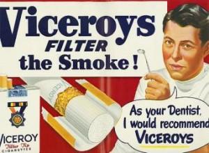 Exposición de Carteles que recomiendan fumar