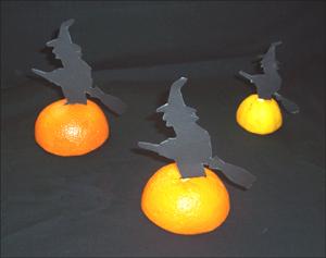 Sencillas ideas para elaborar adornos para Halloween
