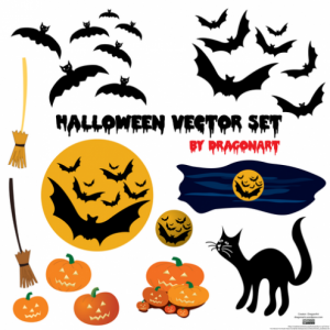 Imágenes en vectores de Halloween