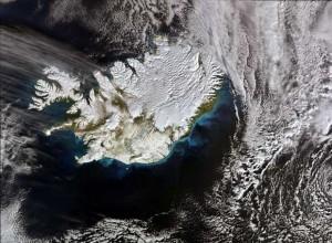 Islandia se viste de nieve