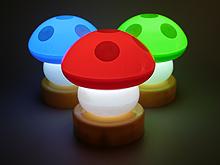 Lámpara de Hongo