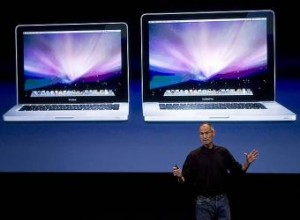 Steve Jobs presenta las nuevas MacBook