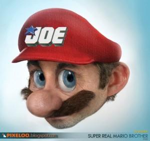Mario como el plomero Joe