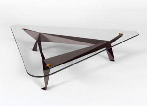Mesas inspiradas en el arte Origami