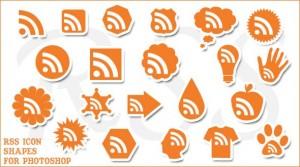 Originales iconos RSS