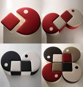 Muebles inspirados en Pac Man
