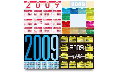 Wallpapers del calendario 2009