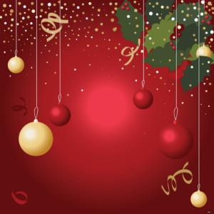 Wallpapers para Navidad en tres diferentes colores