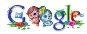 """Google también celebra el """"Día de Muertos"""""""