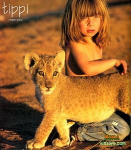 Tippi la niña de Namibia