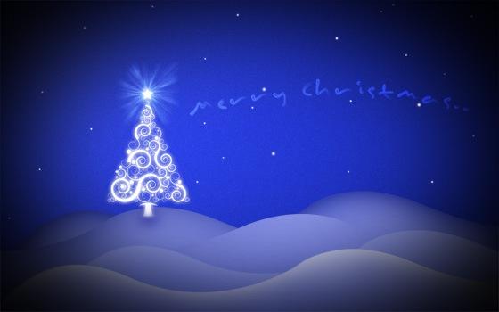 Tutorial para crear un wallpaper de Navidad con Photoshop