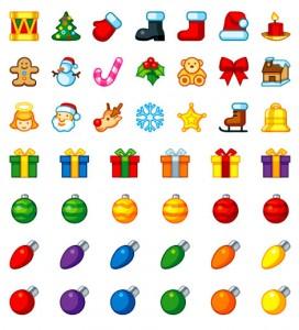 5 Colecciones de imágenes de Navidad en vectores