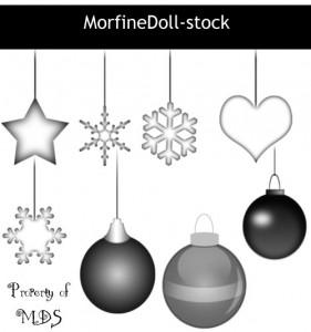 5 sets de brochas de Navidad para Photoshop Gratis