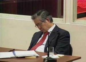 """Fujimori llama """"errores lamentables"""" a las matanzas durante su mandato"""