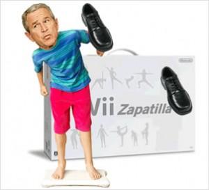 El videojuego del zapatazo a George Bush