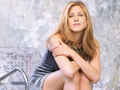 Jennifer Aniston saca sexy calendario