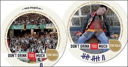 Campaña publicitaria en contra del consumo excesivo de alcohol