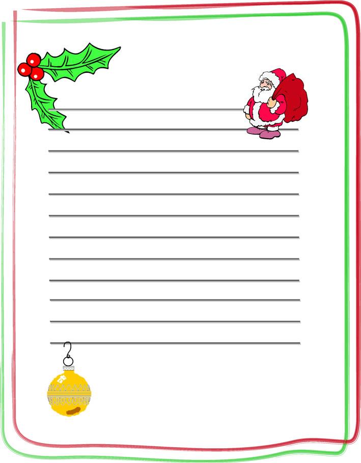 Imprime tu carta para Santa Claus
