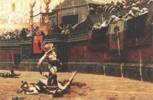 Los gladiadores regresan al Coliseo Romano