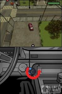 GTA Chinatown Wars para Nintendo DS aprovechando las ventajas de la pantalla táctil