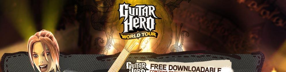 Descarga de 5 canciones gratis para Guitar Hero: World Tour
