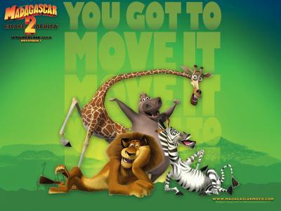 4 Wallpapers de Madagascar Escape 2 África