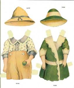 Muñecas Para Recortar Y Vestir Agridulce
