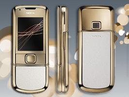 Nokia 8800 con baño de oro de 18 kilates