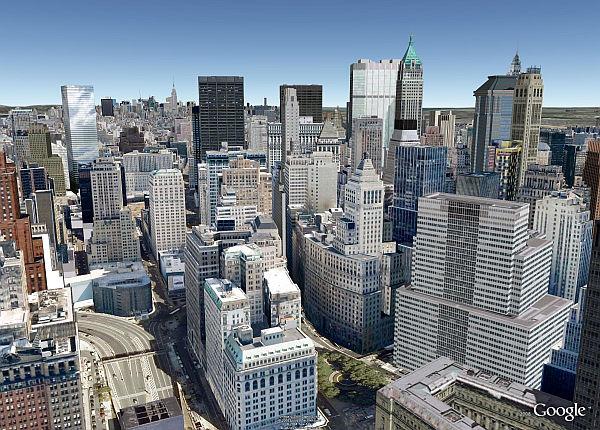 La Ciudad de Nueva York en 3D en Google Earth