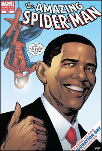 Barack Obama aparecerá en el cómic de Spiderman