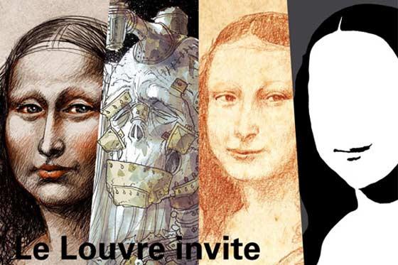 Los Cómics en el Louvre de París