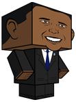 Figura para armar de Barack Obama