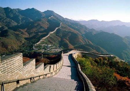 Los internautas podremos admirar La Gran Muralla China en 3D