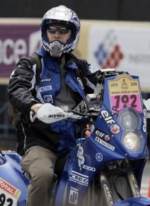 Pascal Terry motociclista del Rally Dakar murió por edema pulmonar