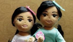 Ponen a la venta dos muñecas con los nombres de las hijas de Obama