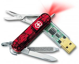 Navaja Suiza con USB Flash Drive