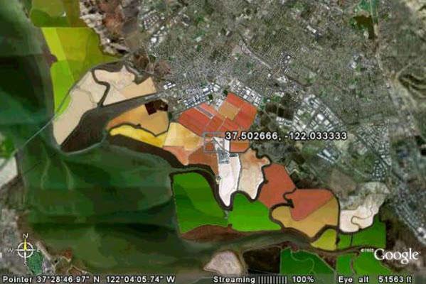 Los 20 mejores mapas de Google Earth